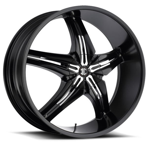 2 Crave No.15 Satin Black with Chrome Insert A