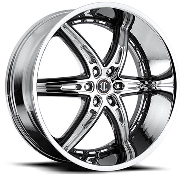 2 Crave No.16 Chrome with Gloss Black Inserts