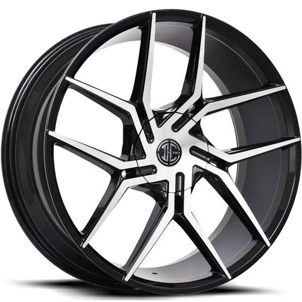 2 Crave No.51 Gloss Black with Machined Face