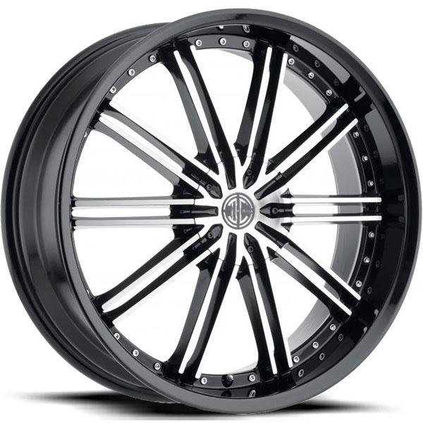 2 Crave No.53 Gloss Black with Machined Face
