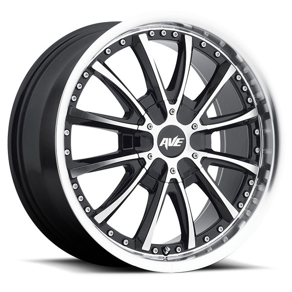Avenue 611 Gloss Black with Machined Face