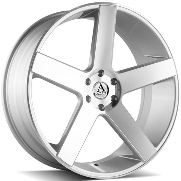 Azad AZ5198 Silver with Machined Face