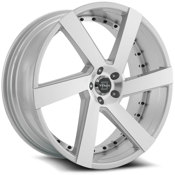 Blade BRVT-452 Maddox Silver with Machined Face