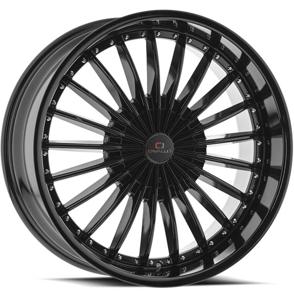 Cavallo CLV-32 Gloss Black