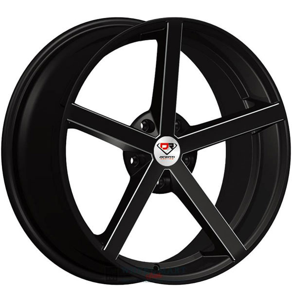 Dcenti Racing DCTL009 Black with Milled Windows