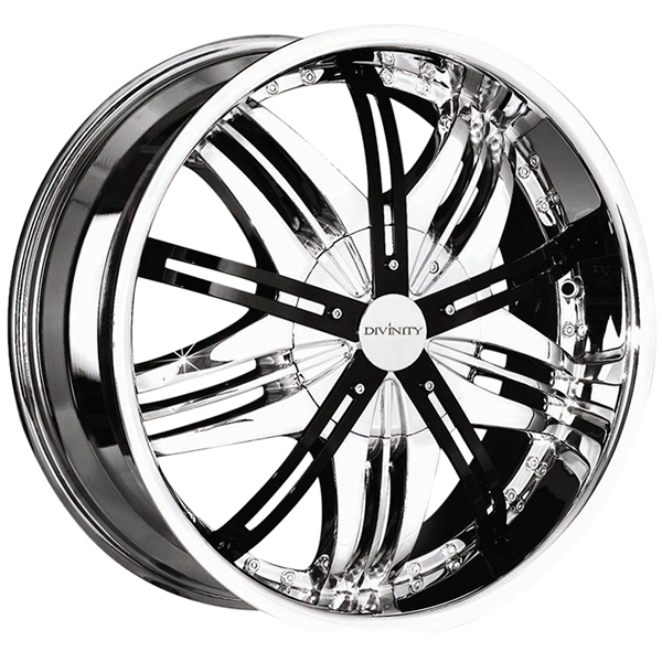 Divinity D10 Chrome with Black Inserts