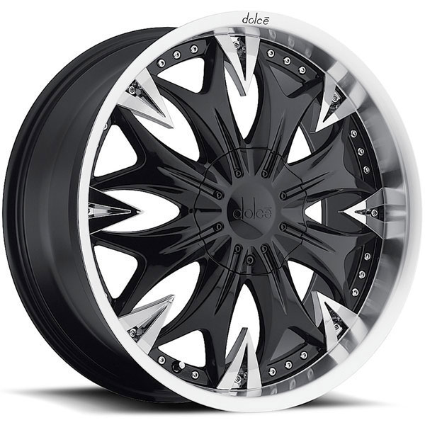 Dolce DC20 Black with Chrome Inserts