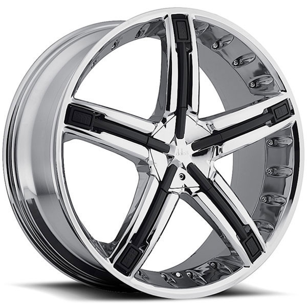 Dolce DC30 Chrome with Black Inserts