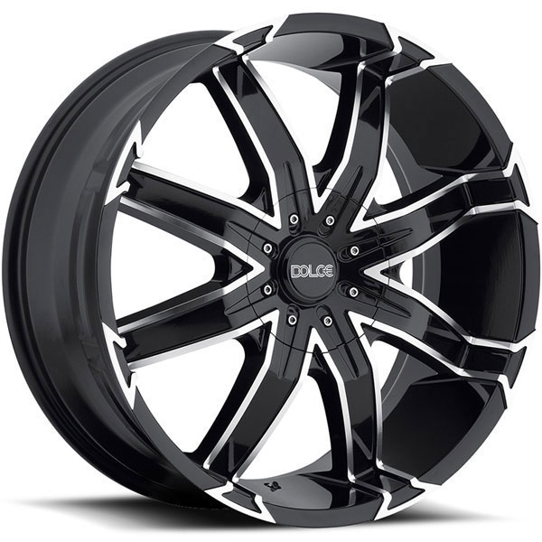 Dolce DC66 Black Machined