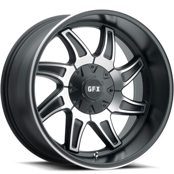 G-FX TR15 Matte Black Machined