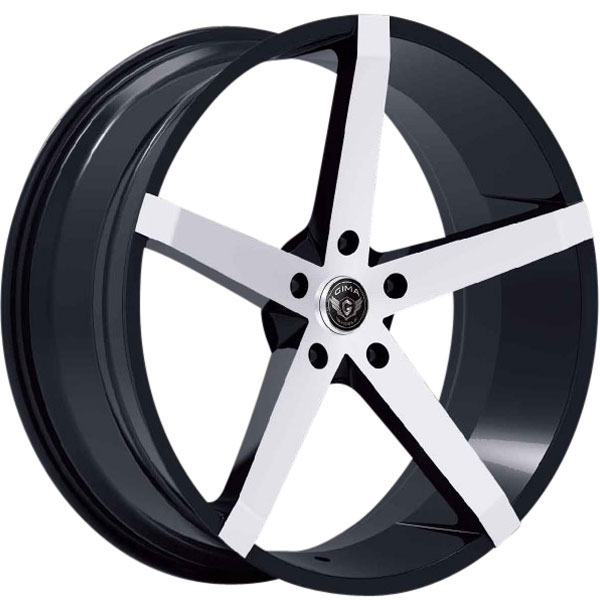 Gima SLY Black with Machined Face 5 Lug