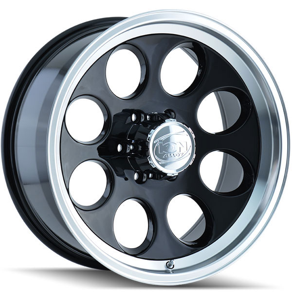 Ion Alloy 171 Black with Machined Lip