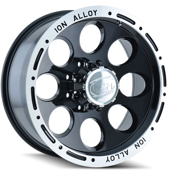 Ion Alloy 174 Black with Machined Stripe
