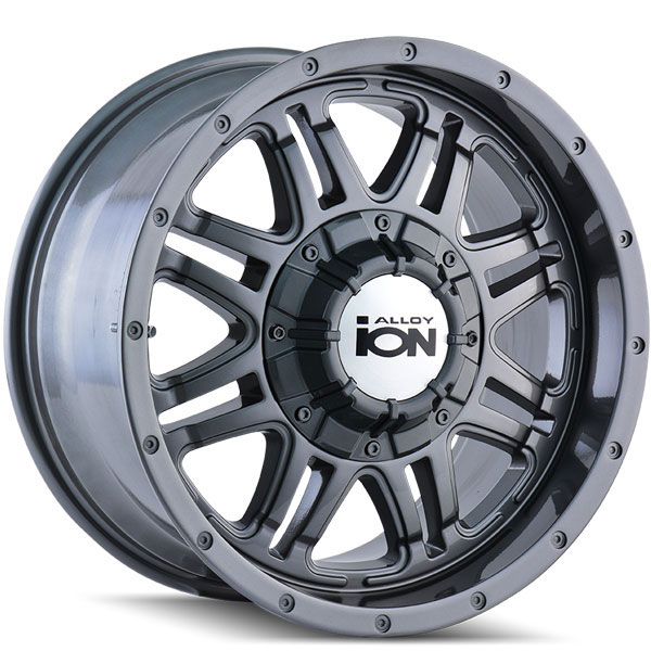Ion Alloy 186 Gunmetal