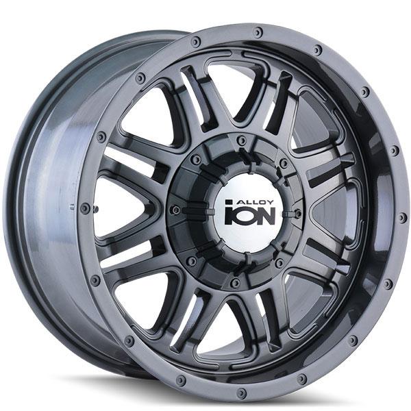 Ion Alloy 186 Gunmetal