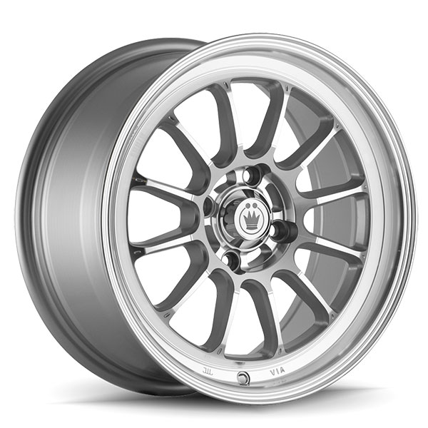 Konig Tweak'D Silver with Machined Face