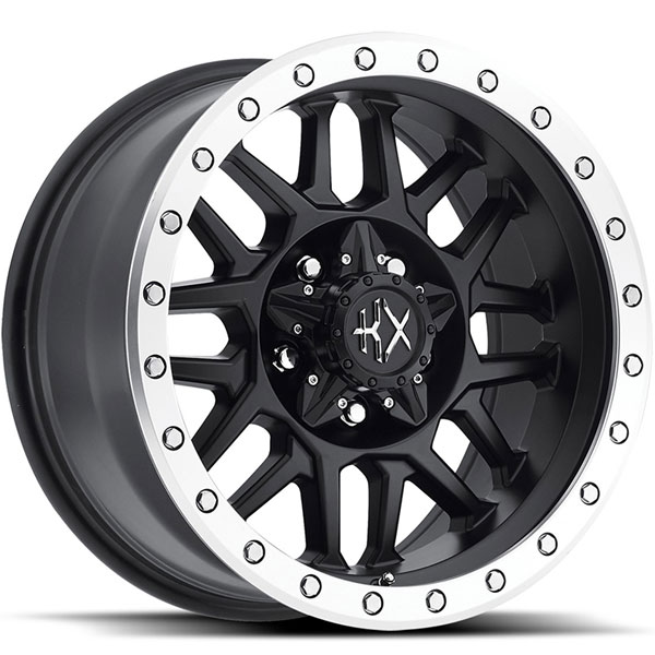 KX Offroad KX03 Matte Black with Machined Ring