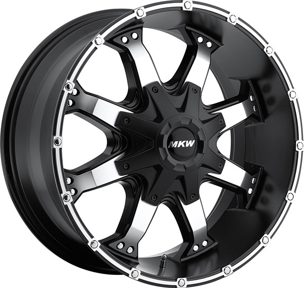 MKW M83 Black with Machined Face and Stripe