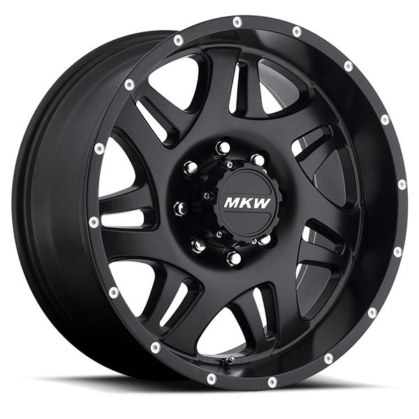 MKW M91 Satin Black 8 Lug