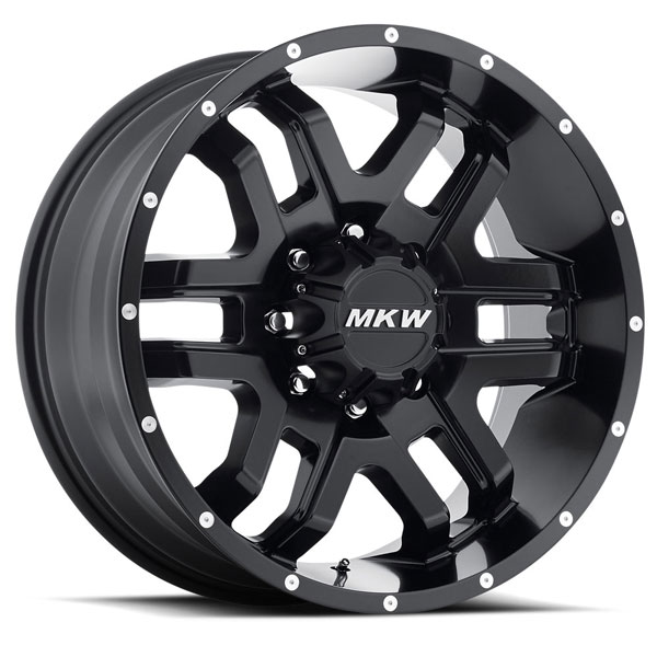 MKW M93 Satin Black 8 Lug