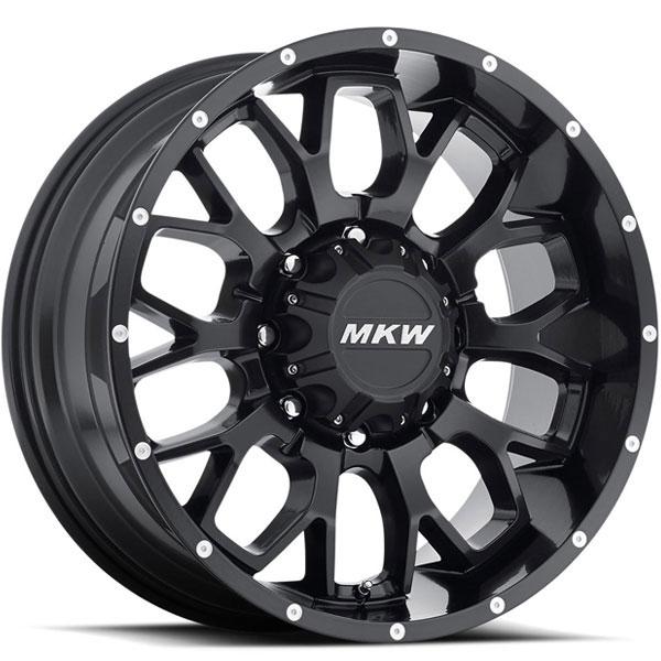 MKW M95 Satin Black 8 Lug