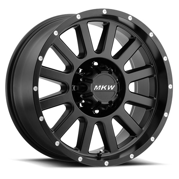 MKW M96 Satin Black 8 Lug