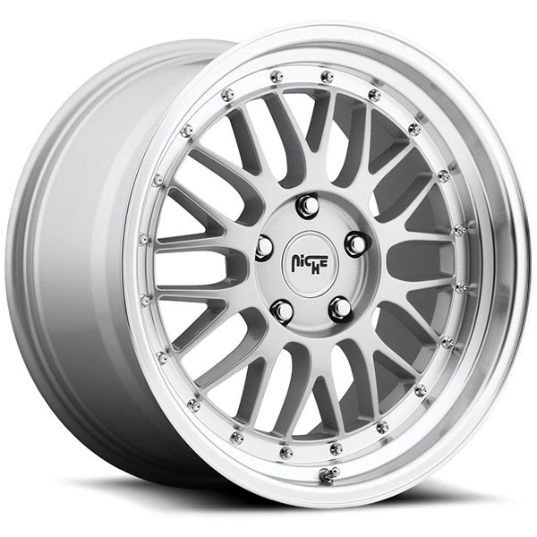 Niche Projekt M094 Gloss Silver with Machined Lip