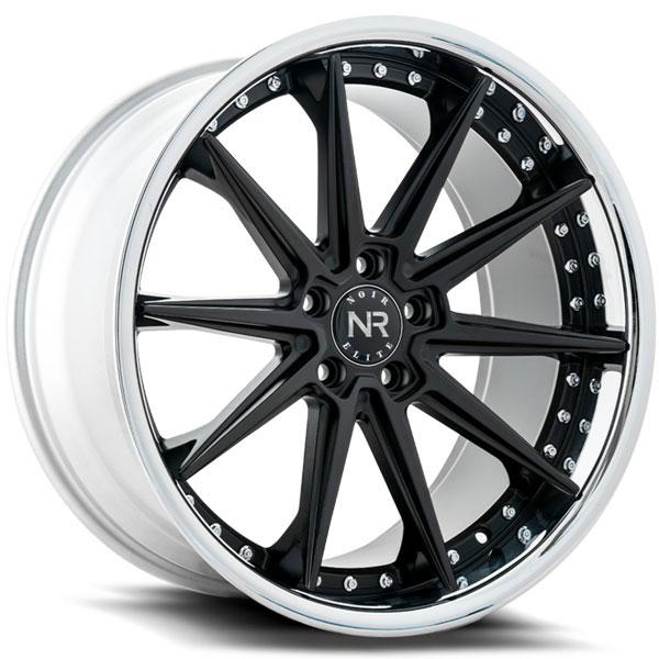 Noir Elite NR110 Gloss Black with SS Lip