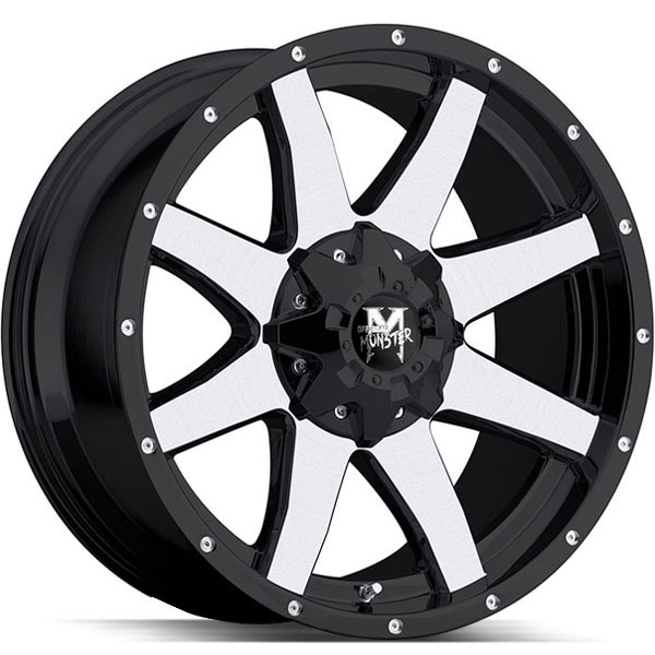 Off-Road Monster M08 Black Machined