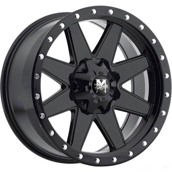 Off-Road Monster M88 Flat Black