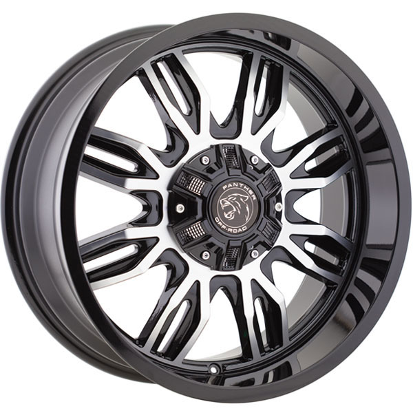 Panther Off-Road 580 Gloss Black Machined