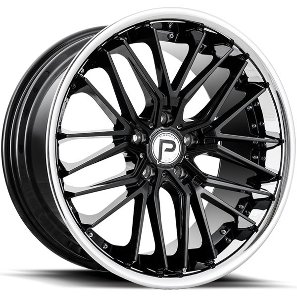 Pinnacle P214 Legacy Gloss Black with SS Lip