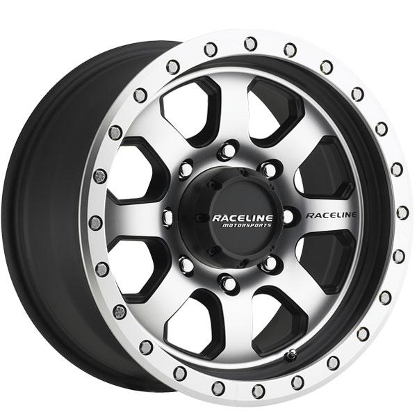 Raceline 929M-SL Avenger Black Machined
