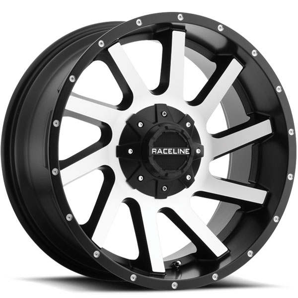 Raceline 932M Twist Black with Machined Face