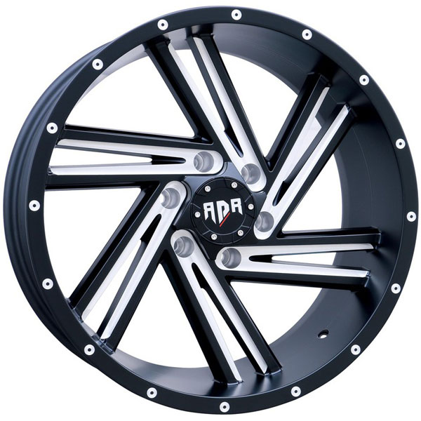 Red Dirt Road RD55B Saw Blade Black with Milled Spokes