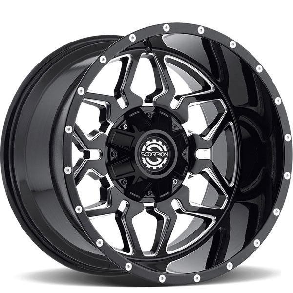 Scorpion Off-Road SC-16 Black Milled