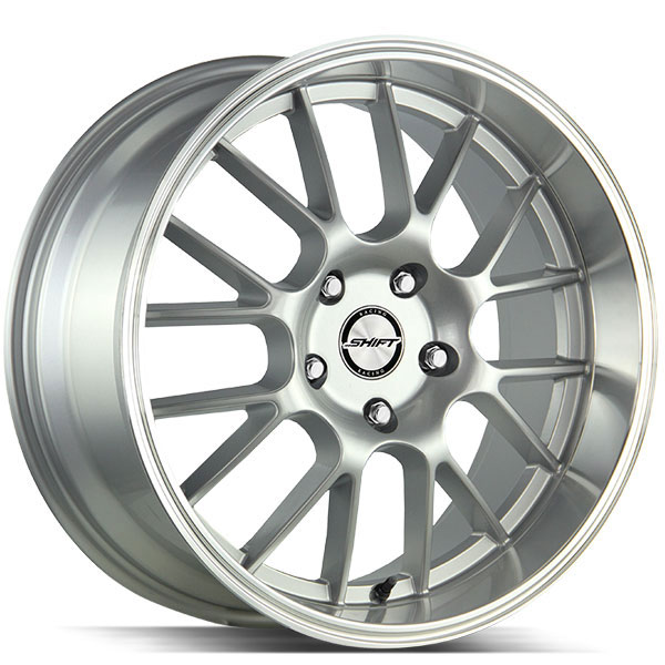 Shift Crank Silver with Polished Lip