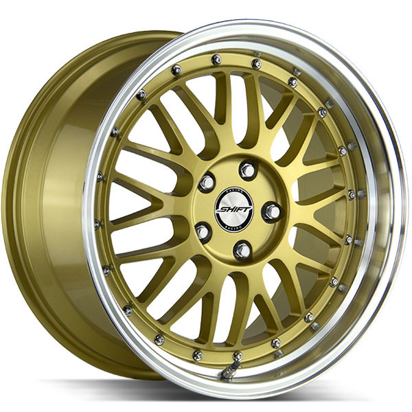 Shift Flywheel Gold with Polished Lip
