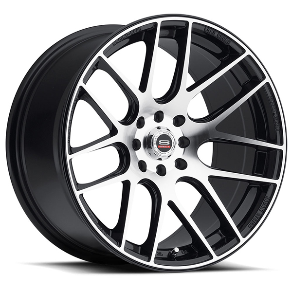 Spec-1 SPT-5 Gloss Black with Machined Face