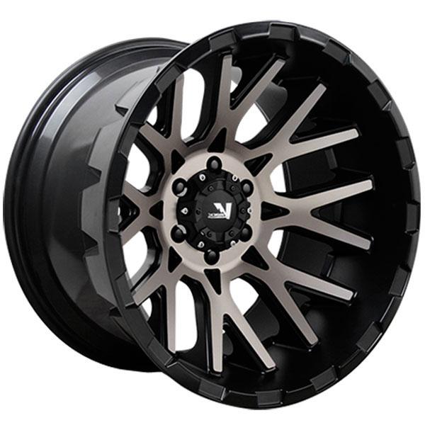 V-Rock VR10X Recoil X Satin Black with Dark Machined