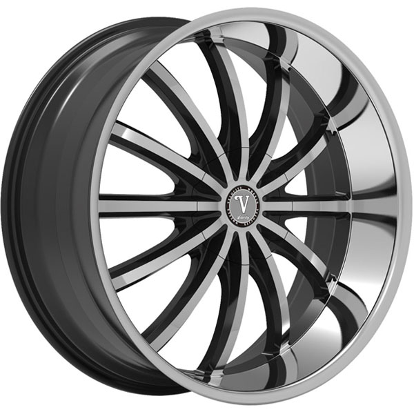 Velocity VW 24 Black with Machined Face
