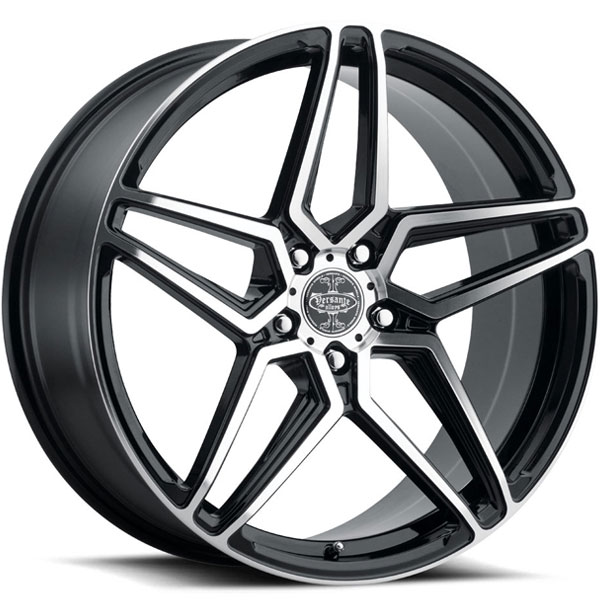 Versante 243 Black with Machined Face