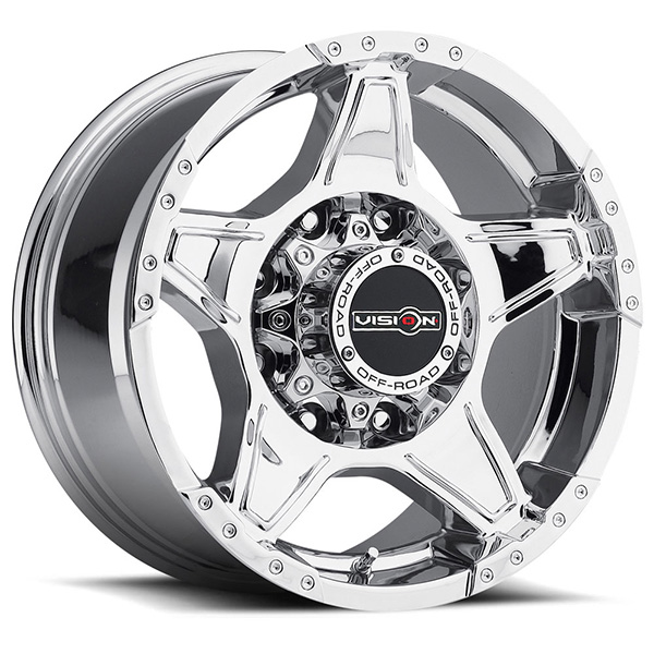 Vision Off-Road 395 Wizard Phantom Chrome Concave