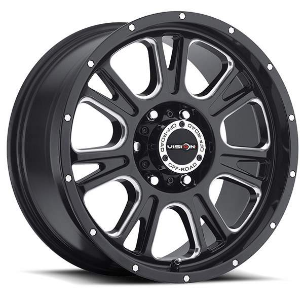 Vision Off-Road 399 Fury Gloss Black
