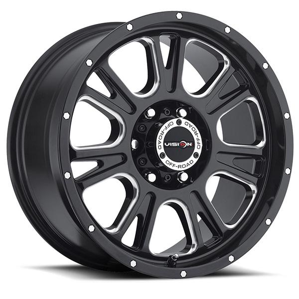 Vision Off-Road 399 Fury Gloss Black