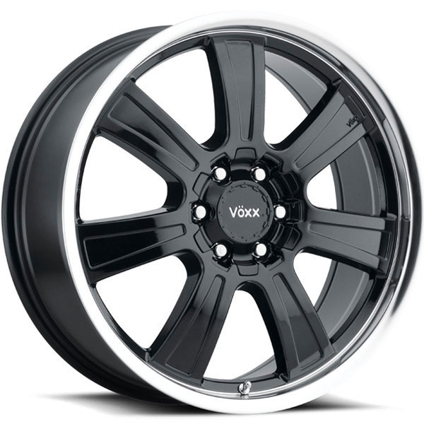 Voxx Turin Gloss Black with Machined Lip